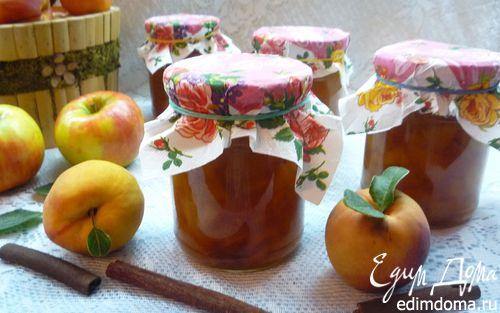 Рецепт Ароматное яблочно-персиковое варенье