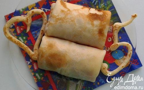 Рецепт Блинчики с грушевым вареньем