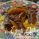 Жаркое с горчицей и кленовым сиропом в медленноварке