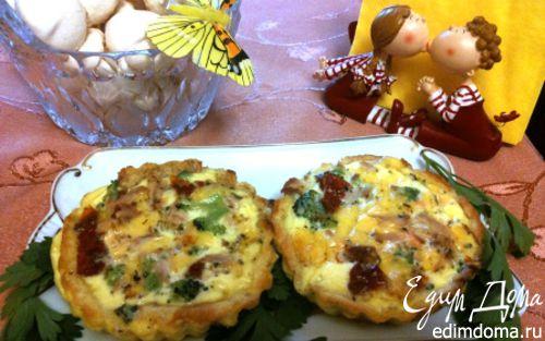 Рецепт Завтрак в корзиночке