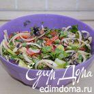 Грузинский салат с ореховой заправкой