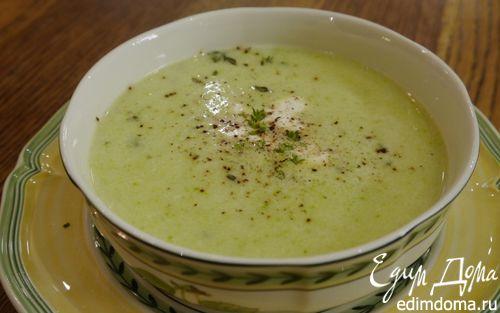 Рецепт Суп из кабачков и пекинской капусты