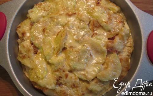 Рецепт Запеканка с кабачками по-приморски