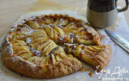Рецепт Яблочная ореховая галета