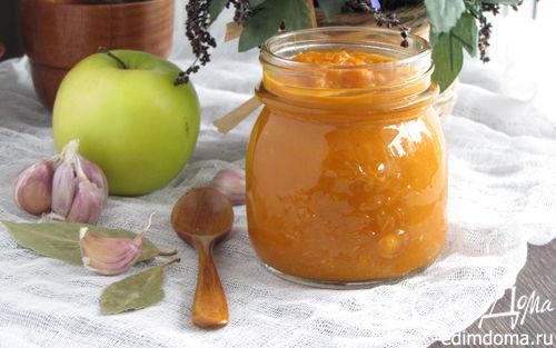 Рецепт Пряный кетчуп с яблоками и карри