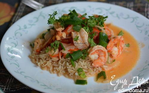 Рецепт Рагу из морепродуктов по-бразильски