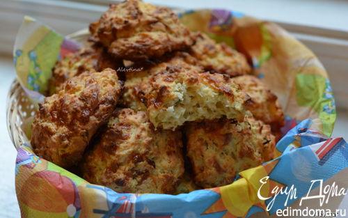 Рецепт Булочки с цукини и сыром