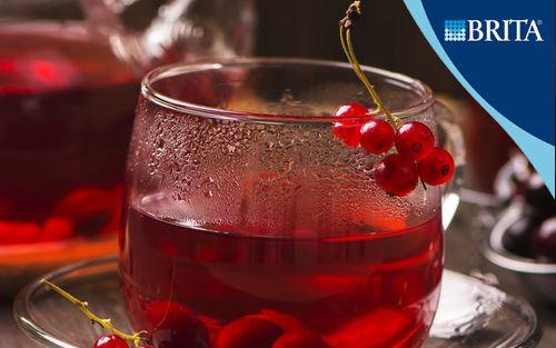 Рецепт Традиционный русский чай с вишней