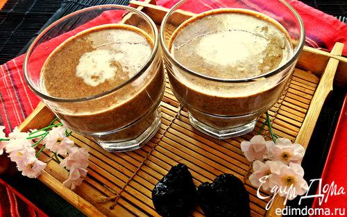 Рецепт Кунжутное молоко с черносливом
