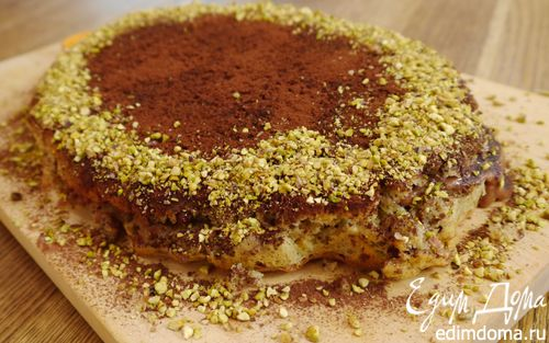 Рецепт Шоколадно-фисташковый пирог