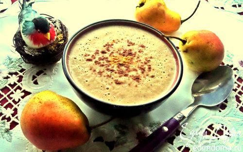 Рецепт Грушевый суп-пюре со сливками