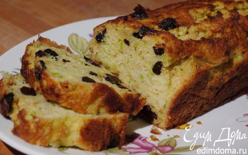 Рецепт Кабачковый кекс с изюмом