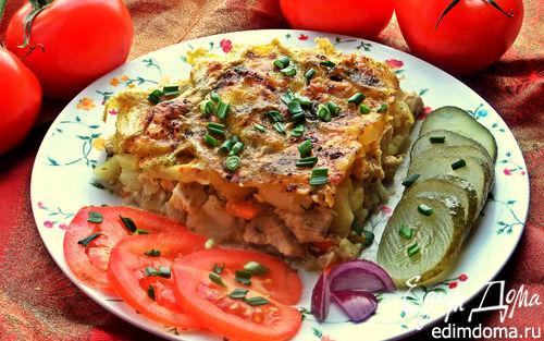 Рецепт Картофельная запеканка с курицей