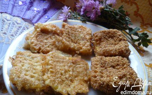 Рецепт Тыквенно-картофельные вафли