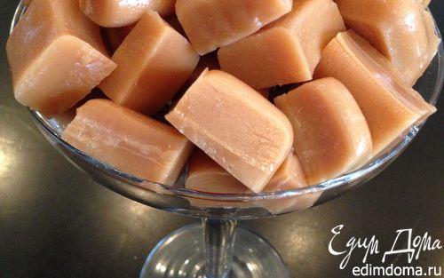 Рецепт Сливочно-медовые ириски