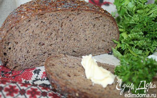 Рецепт Хлеб на закваске льняной с маком