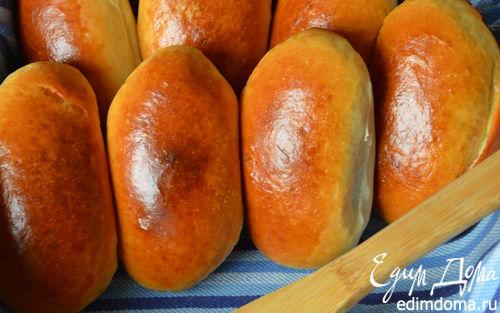 Рецепт Пирожки по-сибирски с солеными груздями