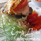 Рыба на подушке из риса