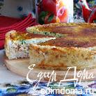 Сырный пирог из лосося