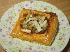 Тарталетки с козьим сыром, артишоками и соусом песто