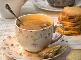 Миндальный кофе