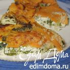 Запеканка из рикотты со сладким картофелем и шалфеем