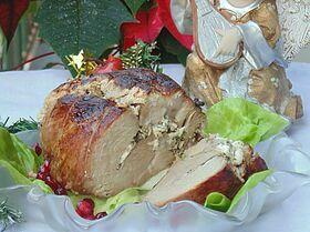 Окорок, запеченный с фетой «Башмачок»