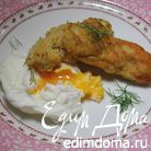 Рыбные пальчики с яйцом пашот