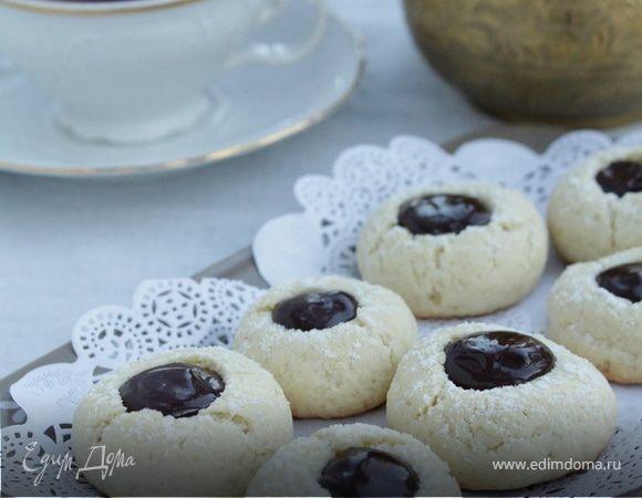 Печенье с шоколадным ганашем