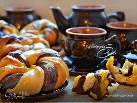 Разноцветные булочки «Веселая карусель»