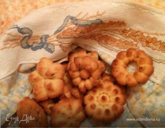 Цельнозерновое печенье с семенами льна