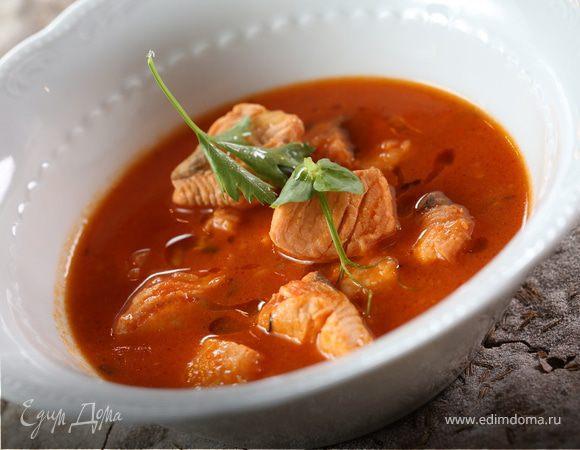 Суп из чавычи рецепт