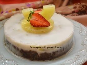 Постный торт «Экзотик»