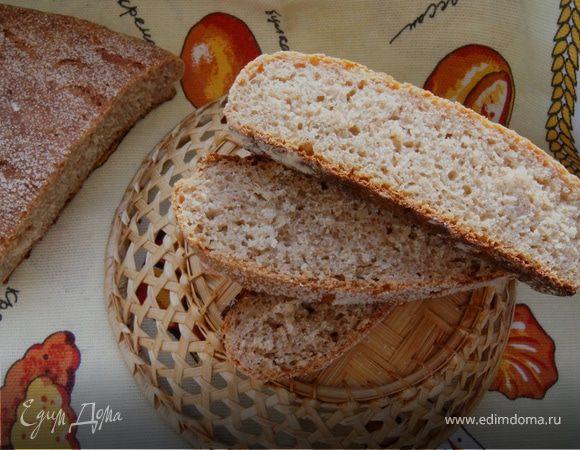 Ржано-пшеничный хлеб с медом и отрубями