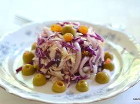 Сицилийский капустный салат
