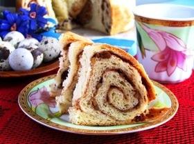 Пасхальный каринтийский хлеб