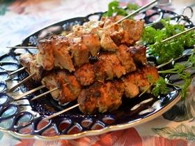 Индонезийский свиной шашлык