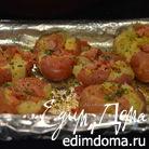 Раздавленный красный картофель