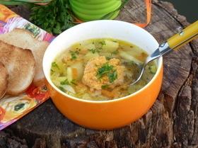 Легкий суп «Икринка»