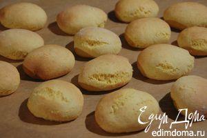 Лимонное печенье «Солнышко» с кукурузной мукой