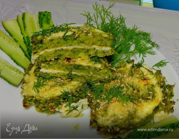 Сырно-капустный сэндвич «Этюд в зеленых тонах»