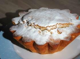 Мандариновый кекс с имбирем и корицей