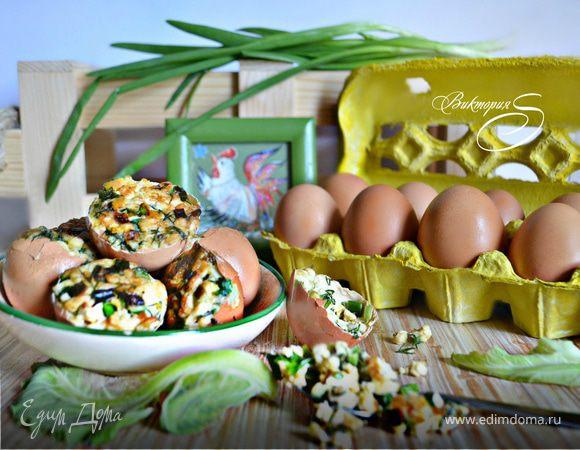 Фаршированные куриные яйца от бабы Кати