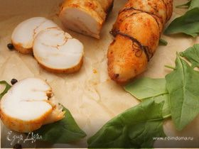 Пастрома из курицы с медом и паприкой