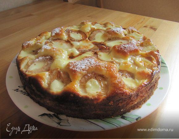 Дачный абрикосовый пирог