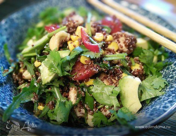 салат рукола с авокадо рецепт с фото