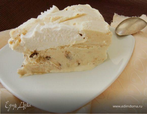 Кофейный торт-мороженое