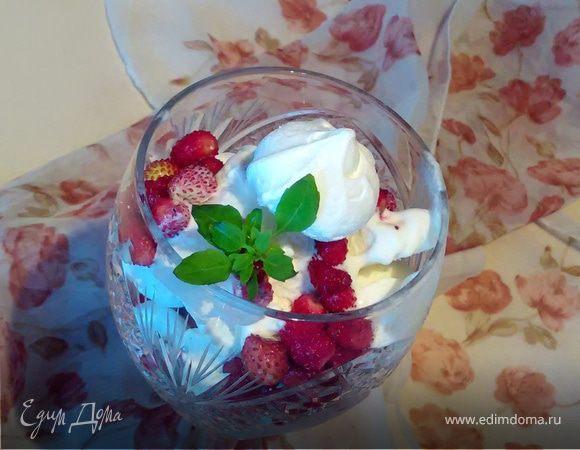 Экспресс-вариант «Павловой» с мороженым для дачи