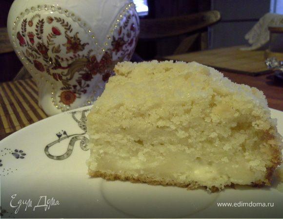 Пирог «Творожная начинка»