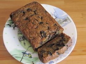 Кабачковый кекс с черникой (Blueberry Zucchini Bread)